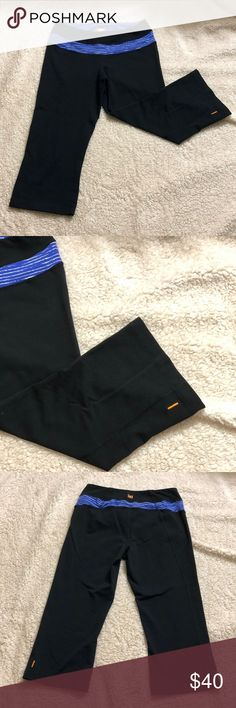 Lucy Powermax Capris Pants -XS Condition; pre-loved  Made in Singapore  87% supplex nylon & 13% Lycra spandex Waist: 36-37 Lucy Pants Capris