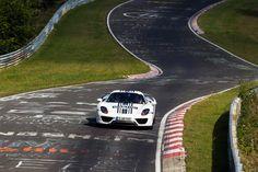 Porsche 918 Spyder. Lap time: 7 minutes, 14 seconds.