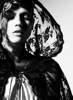 from Sister Act, Masha Novoselova by Miguel Reveriego for Vogue Germany, 2008