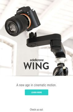 Edelkrone Wing – Get Perfect Camera Slides with No Rails!