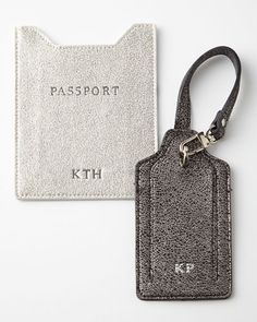 Personalized glitter passport & luggage tag http://rstyle.me/n/vf359nyg6