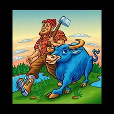 Paul Bunyan and Babe the Blue Ox: Peter Fasolino, residing in Brooklyn, New York, specializes in children's trade books as well as textbooks.   He has worked for all the major publishers