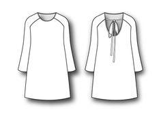 Perfil | patronesmujer | Vestido con manga ranglan: DIY