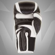 """""""ABSOLUTE 2.0"""" BOXING GLOVES - BLACK/WHITE - NAPPA LEATHER"""