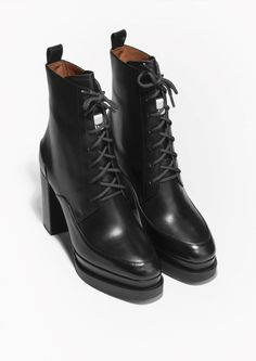 & Other Stories | Lace-Up Ankle Boots