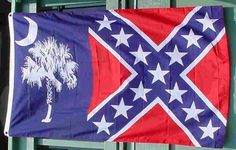 South Carolina / Confederate flag Confederate Leaders, Confederate States Of America, America Civil War, Southern Heritage, Southern Pride, American History, American Flag, Military Flags, True Meme