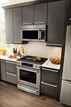 Countertop Convection Oven With Burners : -in Gas Range with 4 Sealed Burners, 4.1 cu. ft. True Convection Oven ...