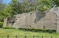 Osaka Castle, Japan megalithic site