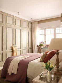 Shabby and Charme: Uno splendido appartamento a Salamanca Dream Bedroom, Home Bedroom, Bedroom Decor, Bedroom Ideas, Bedroom Colors, Beautiful Bedrooms, Luxurious Bedrooms, House Colors, Madrid