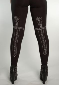 Sword Leggings size MEDIUM von SOVRIN auf Etsy, $35.00