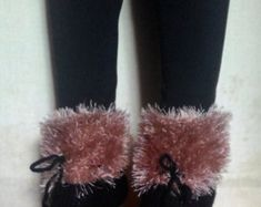 Otantic slippers, Turkish Socks, girls Slippers, knitted home shoes, womens slippers, house shoes