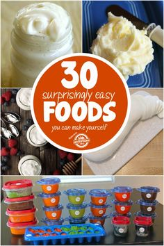 Don't Buy It – Make it! DIY The #30 Easy Recipes For the Most Popular High Priced Name Brand Grocery Essentials !