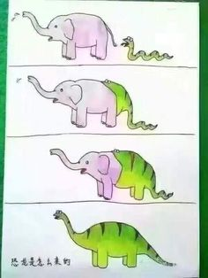 How evolution works in a nutshell.