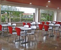Cafeterías y restaurantes - Scanform Y Food, Food Court, Outdoor Furniture Sets, Outdoor Decor, Living Spaces, Conference Room, Club, Table, Life