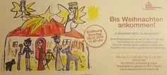 GROSSE KÖPFE: Wochenbild: Bis Weihnachten ankommen, eine Ausstellung mit Kinderzeichnungen ab dem 6.12.15 in Berlin