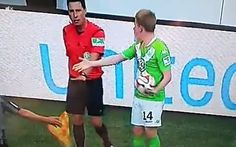 On a day that included a managerial shoving match, Tobias Werner kicking his shoe at Kevin De Bruyne still might have been the strangest thing to happen on Sunday.