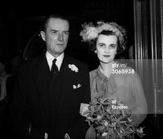 12th duke of Argyll | 24th March 1951: The 12th Duke of Argyll, Ian Campbell and his bride Margaret Sweeney (ex Mrs Charles Sweeney)
