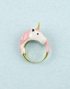 Fancy - Pink Unicorn Ring