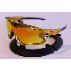 Oakley Jawbreaker Sagan Gold fire polarised tinkoff saxo
