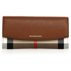 Burberry Variegated Print Leather Clutch ($520) ❤ liked on Polyvore featuring bags, handbags, clutches, apparel & accessories, tan, tan purse, 100 leather handbags, burberry handbags, brown handbags and leather clutches