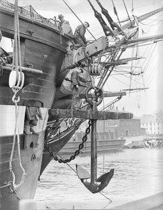 Tall Ships, Sailing Ship, Model Boats, Decorative Ships, Decorating With Ship Models Old Sailing Ships, Uss Constitution, Wooden Ship, Sail Away, Wooden Boats, Tall Ships, Model Ships, Historical Society, Water Crafts