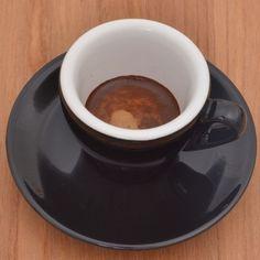 """Espresso cup Nuova Point """"Milano"""" black"""
