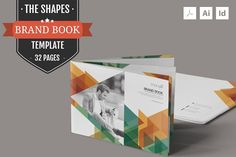The Shapes-Brand Guidelines Template by ZippyPixels on Creative Market Indesign Templates, Brochure Template, Branding Template, Business Brochure, Business Card Logo, Brochure Design, Branding Design, Brand Guidelines Template, Brand Assets