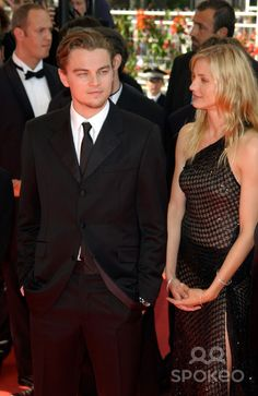 Actor LEONARDO DiCAPRIO & actress CAMERON DIAZ at the Cannes Film Festival to promote their new movie Gangs of New York. 20MAY2002. Paul Smith / Featureflash