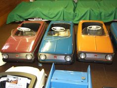 Old tin plate toys and pedal cars, Genuine, category - Antique toys. Cool Kidz, Pedal Cars, Antique Toys, Old Toys, Cars And Motorcycles, Corgi, Bike, Memories, Antiques