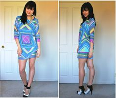 The brighter the print, the better. (by Genya Polianskaia) http://lookbook.nu/look/4095530-The-brighter-the-print-the-better