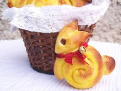 Sweet and Salty: Easter bunnies with saffron ... definitely need to do something like this