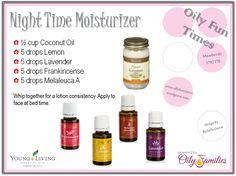 Night Time Moisturizer | Oily Fun Times
