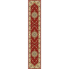 Safavieh Lyndhurst Red and Black Rectangular Indoor Machine-Made Runner (Common: 2 x 14; Actual: 27-in W x 168-in L x 0.42-ft Dia)