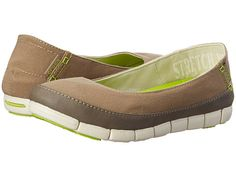 Crocs Stretch Sole Flat Black/Light Grey - Zappos.com Free Shipping BOTH Ways
