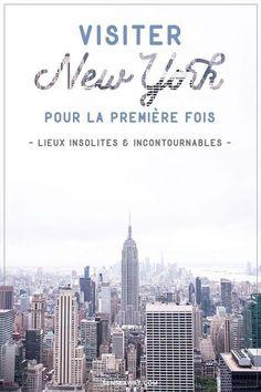 New York bonnes adresses - Voici quelques bonnes adresses de lieux incontournables et de visites insolites si vous voyagez à New York pour la première fois ! #newyork #voyage
