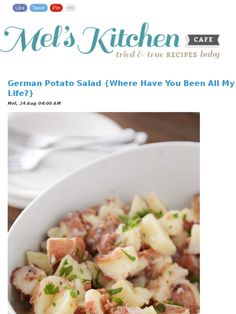 German Potatoes Salad, Check, Dresses, German Potato Salads, Mad Mimi ...