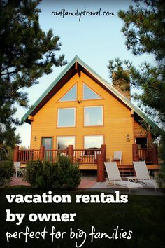 See why these vacation home rentals are perfect for your next big road trip. #vacation #home #family
