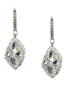 7401312ae Atelier Swarovski Moselle Drop Pierced Earrings - Women Earrings on YOOX.  The best online selection of Earrings Atelier Swarovski.
