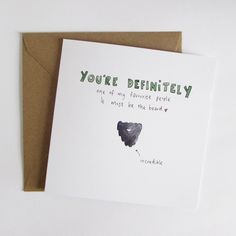 Incredible Beard Valentine's Card - jammy and jelly