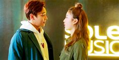 Let's Fly To Asia — Shi Hyun and Soo Yeon ignoring the concept of...