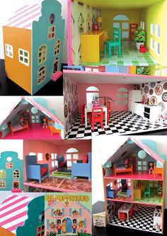 pixie's dollhouse Miniture Things, Kidsroom, Diy Crochet, Little People, Home Projects, Kids Toys, Diy And Crafts, Kids Fashion, Lego