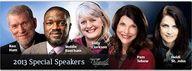 2013 Special Speakers