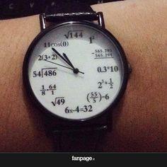 Como ver as horas com estilo! *O*