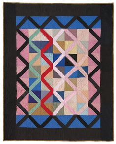 Amish Abstractions: Quilts from the Collection of Faith and Stephen Brown. Looks modern!