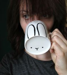 jewelry &stuff by one creative bunny: DIY Bunny Mug / Uradi sam: Šolja sa zekom