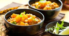 You can use any combination of vegetables in this curry and make it as mild or spicy as you like...