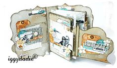 many interactive mini album ideas, know I've pinned this b4 but it's lush!