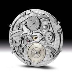 Vacheron C. - Caliber 1120 with perpetual calendar mechanism (dial side)
