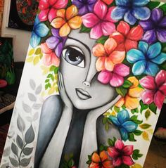 Cool Art Drawings, Art Drawings Sketches, Colorful Drawings, Pencil Drawings, African Art Paintings, Owl Paintings, Modern Art Paintings, Indian Folk Art, Cherokee Indian Art
