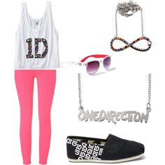 One Direction Shoes Amazon | ... , TOMS shoes and claire's sunglasses. Browse and shop related looks